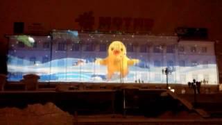 Световое шоу в Екатеринбурге 2