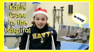 One of Flippin' Katie's most viewed videos: A Gymnastics Injury Sends Katie to the Hospital And Ryan Fixes His Injured Train | Flippin' Katie