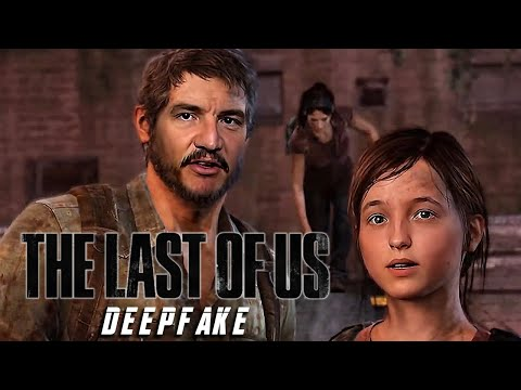 Pedro Pascal and Bella Ramsey in The Last of Us [Deepfake]