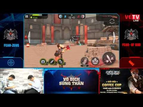 [VĐST - 29.04.2016] Trận 3 - FEAR-ZEUS (súng tỉa) vs FEAR- OF GOD (súng shotgun)