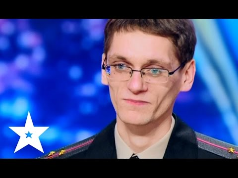 One of the fastest rappers ever! Ukraine's got talent