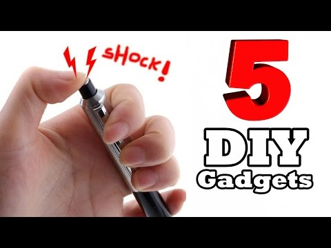 5 cool homemade gadgets youtube - Cool Homemade Stuff