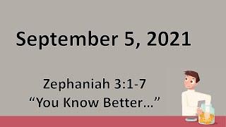 9-05-21 Pastor Sparky