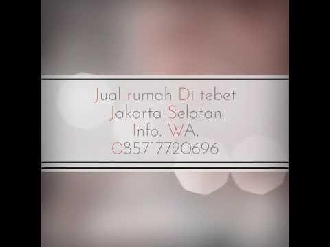Jual Rumah di Tebet Jakarta Selatan. Info. WA ...