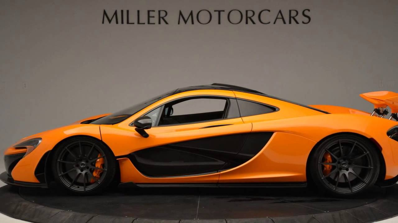Gorgeous Mclaren P1 For Sale From Miller Motorcars Youtube