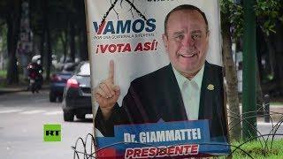 Preparativos para las proximas elecciones presidenciales en Guatemala