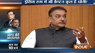 Ravi Shastri Speaks about Difference in Temperament of Dhoni and Kohli