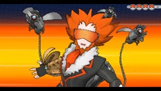 Repeat youtube video Pokemon X and Y - Team Flare Boss Final Battle