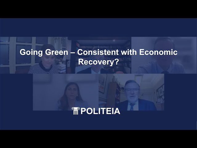 Going Green – Consistent with Economic Growth | 10/06/21 | Webinar