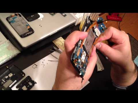 how to fix a cracked screen on a g priv