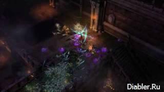 Diablo 3 - второй трейлер волшебницы в BlizzCon 08