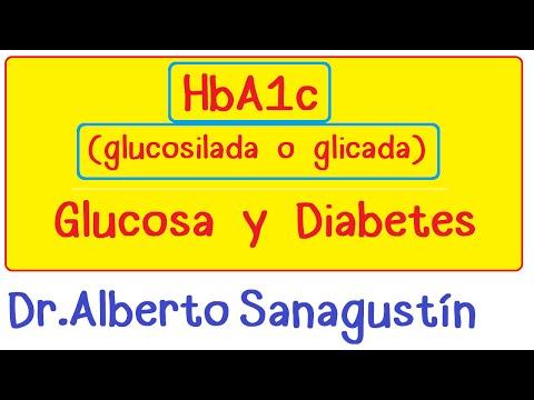 Hemoglobina glicosilada, glucosilada o glicada (HbA1c) y diabetes