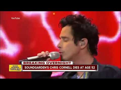 'Soundgarden' and 'Audioslave' lead singer Chris Cornell dies at age 52