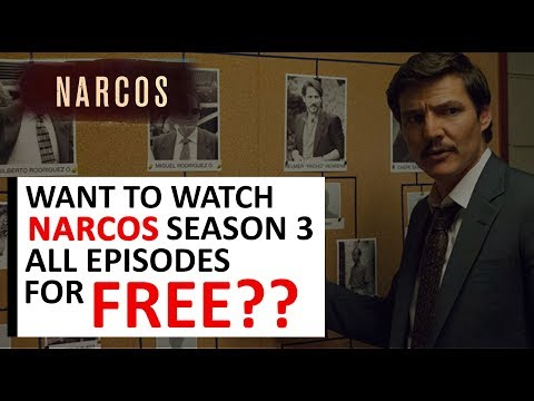 Watch/Download All Episodes Of NARCOS Season 3 For Free