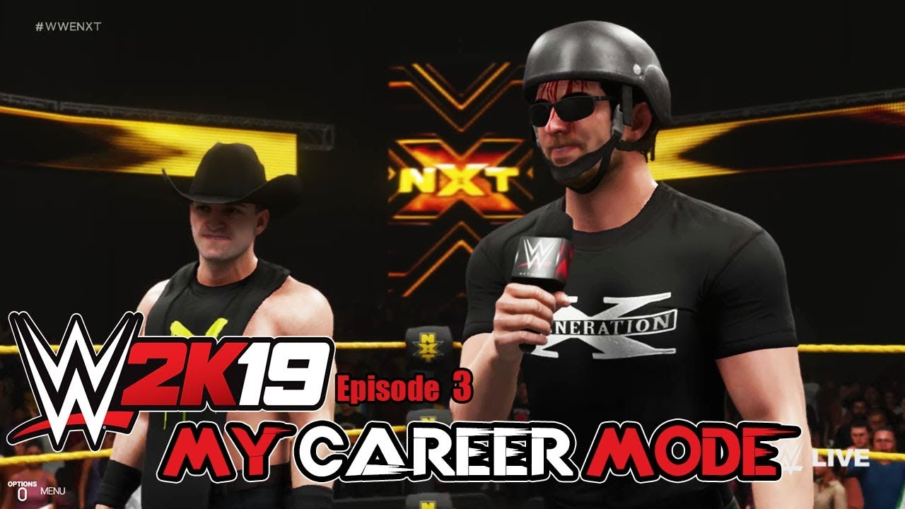 wwe-2k19-my-career-mode-episode-3-invading-nxt