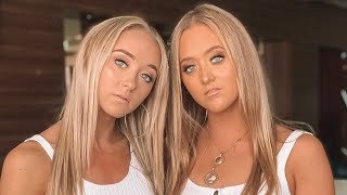 TWIN MAKEUP TRANSFORMATION (TRY NOT TO LAUGH)