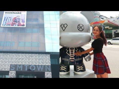 Korea Vlog #1   Arrival & Gangnam: SM Coex Artium, 1MILLION Dance Studio & K-Star Road Bears
