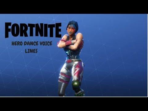 Fortnite: Dance Voice Lines