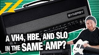 An Amp That's All These Amps? | SYNERGY AMPS SYN-50 Modular Amp System Review | GEAR GODS