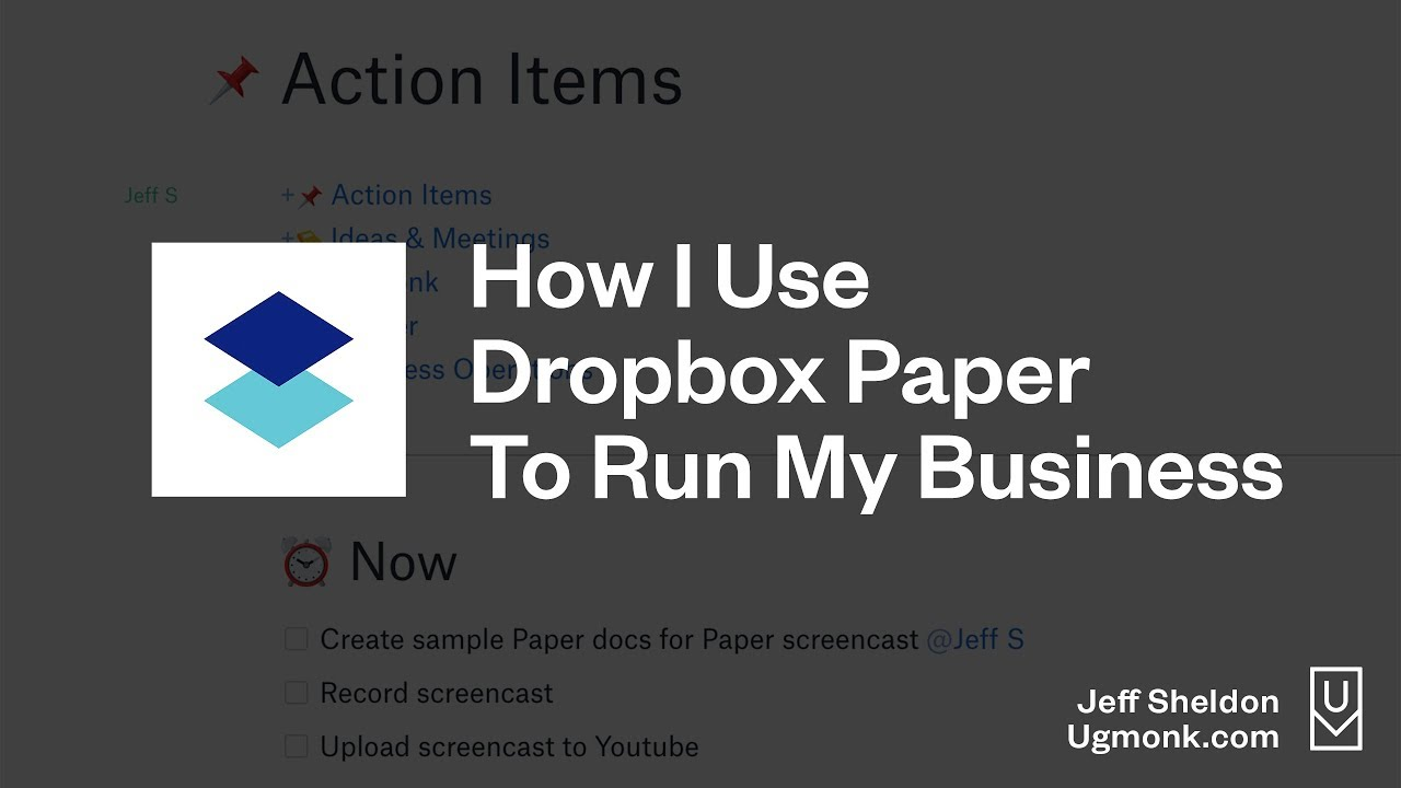 How I Use Dropbox Paper to Run My Business