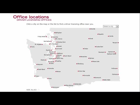 Best Source For Finding WA Driver Licensing Office
