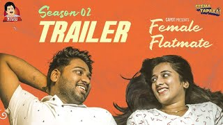 TRAILER - FEMALE FLATMATE (WEB SERIES)  | SEASON - 2 | SEEMA TAPAKAI | CAPDT