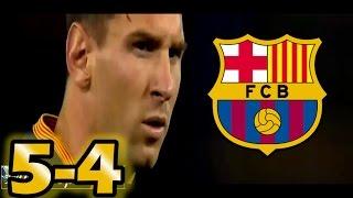 GOLES BARCELONA SEVILLA 5 4 FINAL SUPERCOPA de EUROPA 2015  Europe Super Cup Goals Messi Pedro