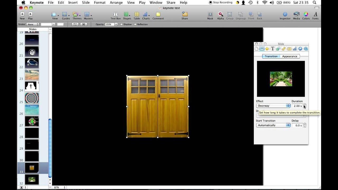 Drawing Lines In Keynote : Easy doorway keynote tutorial youtube