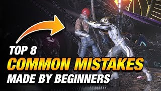 Top 8 COMMON MISTAKES Made By Beginners In Injustice 2