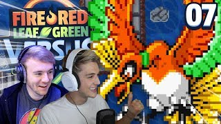 CANNOT BE TRUSTED! | Pokémon Fire Red & Leaf Green Randomizer Nuzlocke Versus w/ GameboyLuke) #Ep7