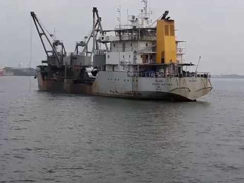 Dredging.... Nehru satapthi Cochin Port Trust