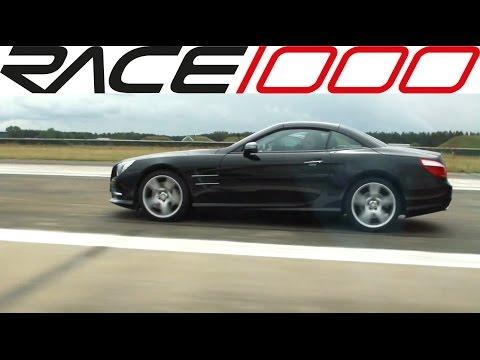 BMW M6 V10 vs. C63 AMG 487 vs. SL500 R231 (ECU) - ROLL RACE