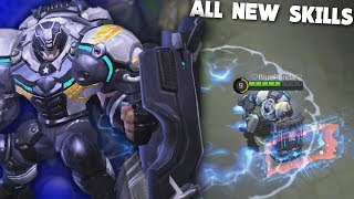 Johnson Rework Gameplay! (Epic NEW Skills) Mobile Legends