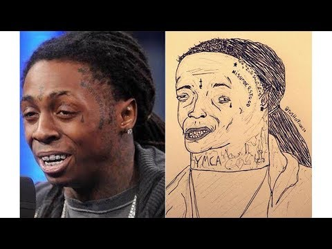 Fan art by @Tw1tterPicasso | Tory Lanez, Lil Wayne, and more...