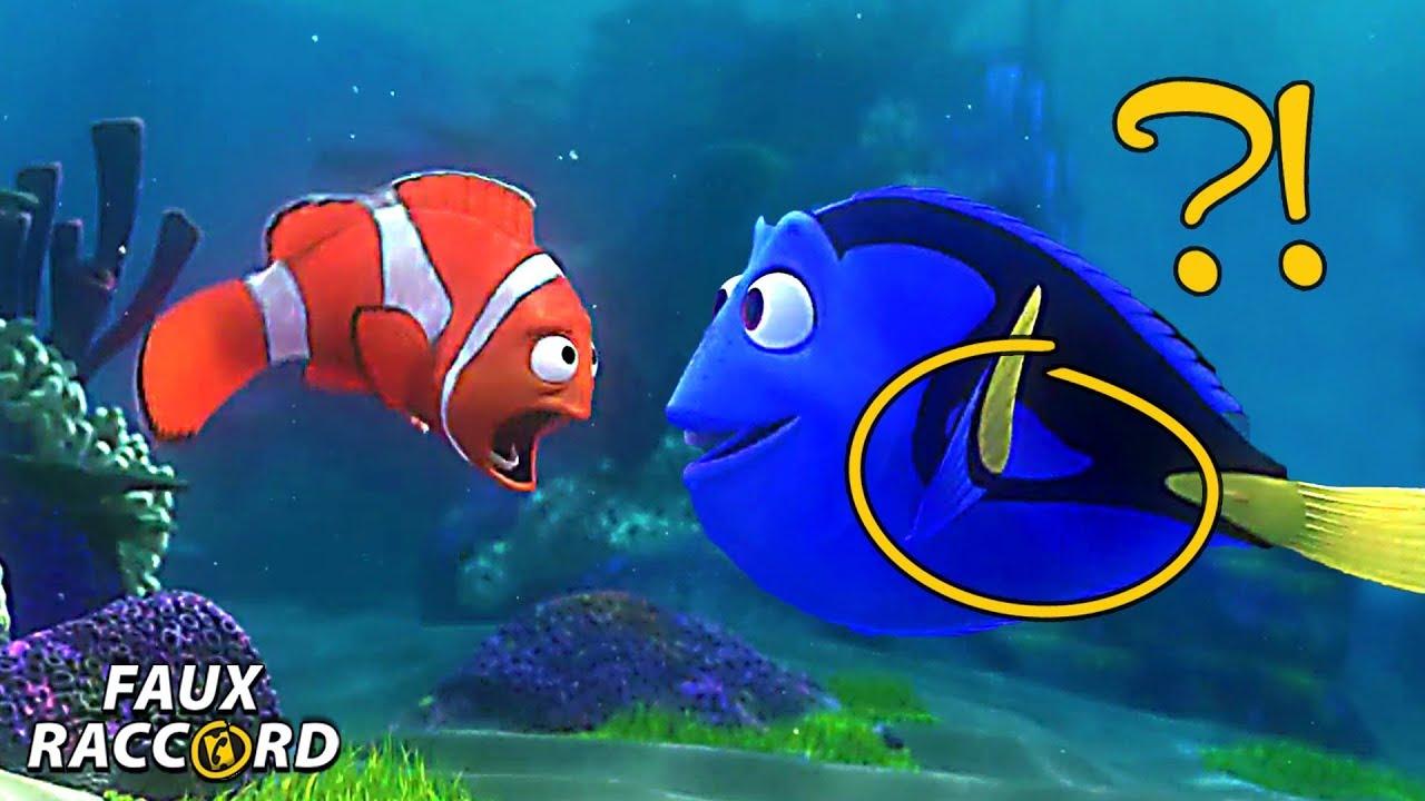 Les erreurs dans le monde de nemo et dory faux raccord - Nemo et doris ...