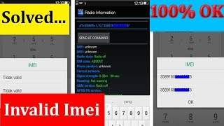How To Repair Imei Number In Android - Fix Invalid (Imei Without Pc)