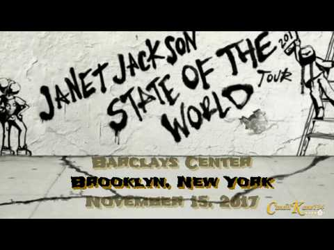 Janet Jackson @ State Of The World Tour NYC