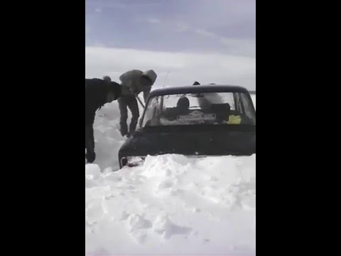 Жители Юлбарсово более 10 дней были в снежном плену