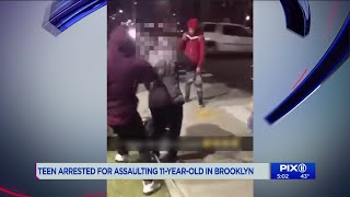 Teen arrested for assaulting 11-year-old girl in Brooklyn