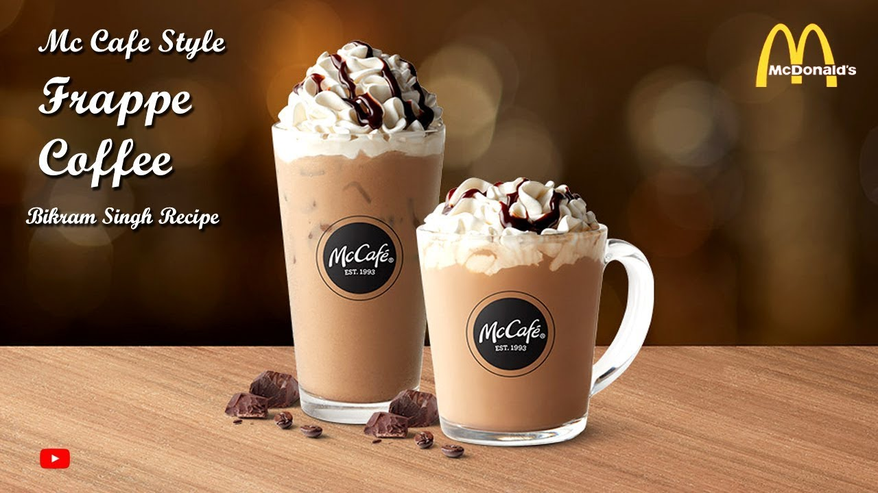 How to make McDonalds Frappe | Frappe Coffee Recipe ...