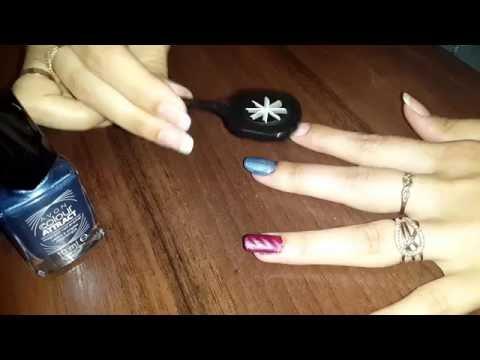 Магнитный лак для ногтей эйвон
