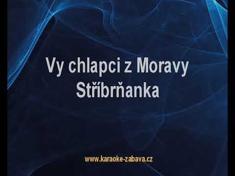 Vy chlapci z Moravy - Mistříňanka Karaoke tip