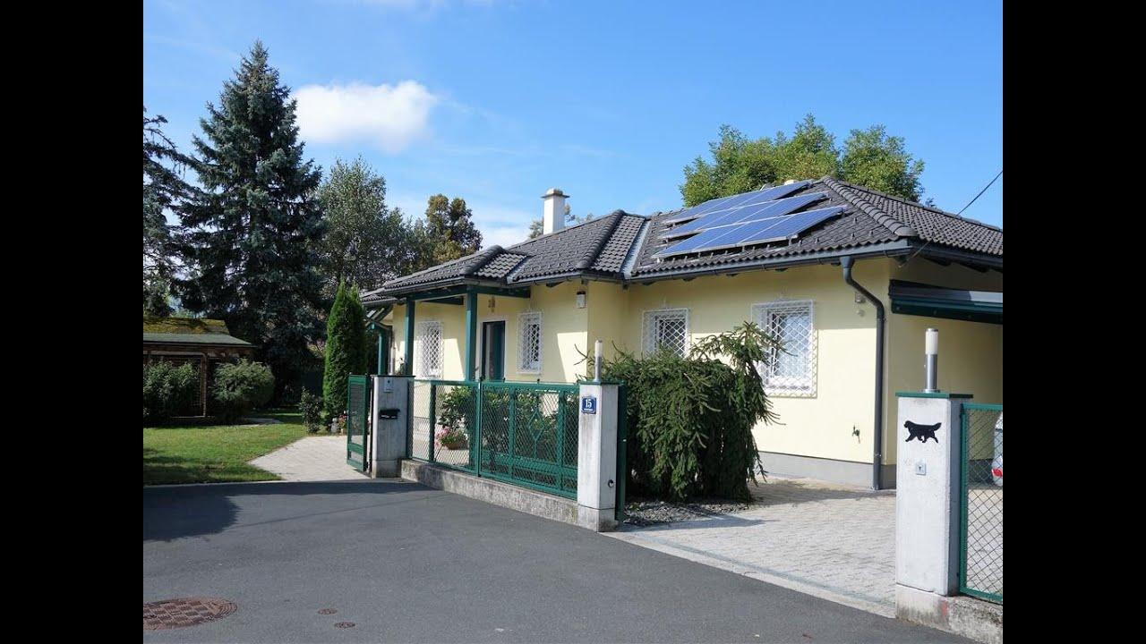 garten bungalow verkauft: klagenfurt: moderner bungalow mit märchenhaftem garten und pool -  zentrumsnah