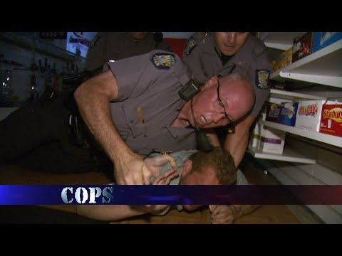 Late Night Shopper, Officer Tracy Russell, COPS TV SHOW