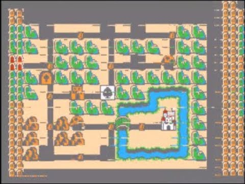 nes super mario bros 3 map