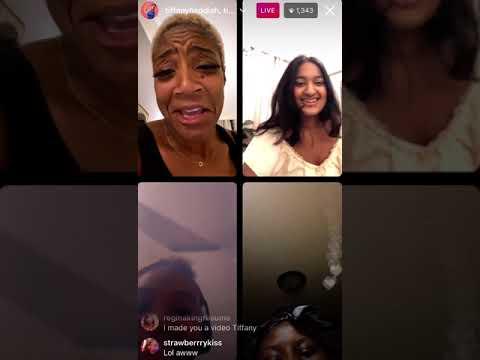 Tiffany Haddish's Instagram Live on 5/7/2021 (Part 2)