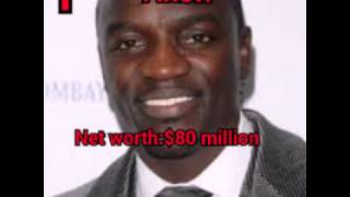 Top 10 richest of african hip hop artist(with their net worth)latest