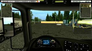 German Truck Simulator Gameplay #1 HD
