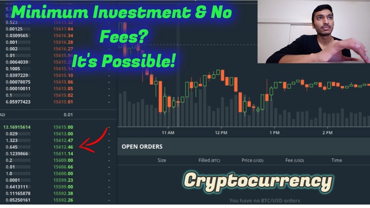what is the minimum investment in bitcoin