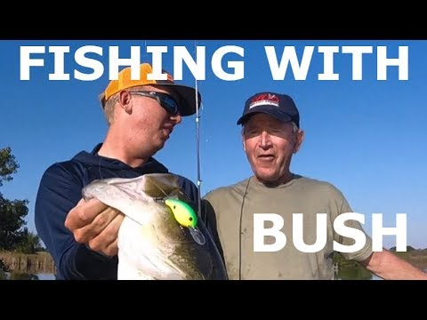 I went fishing with the PRESIDENT!!!